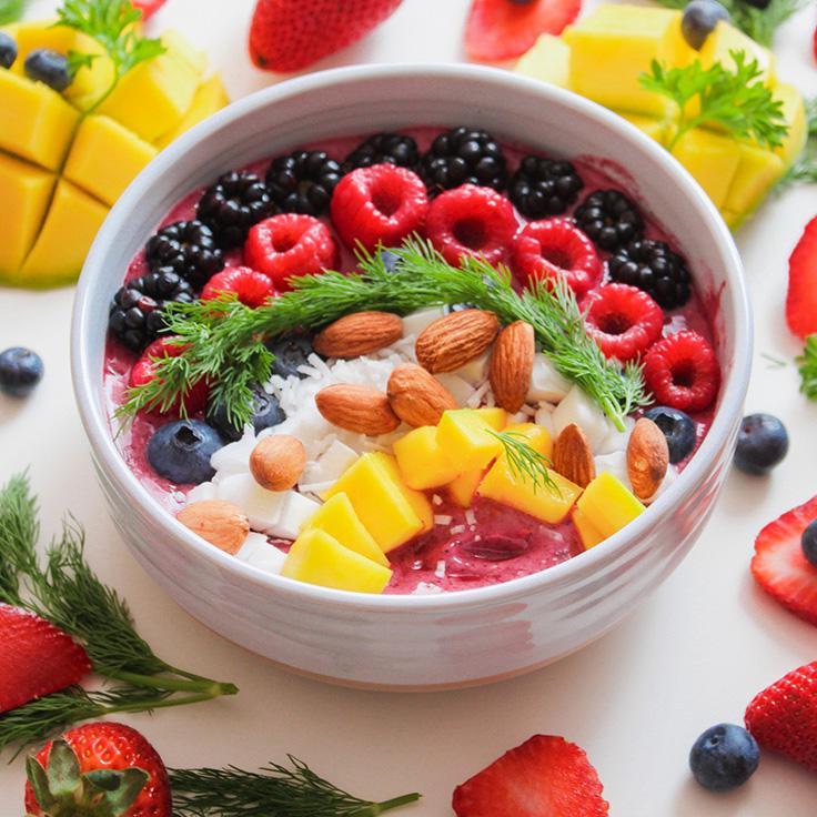 一碗健康食品,买健康水果